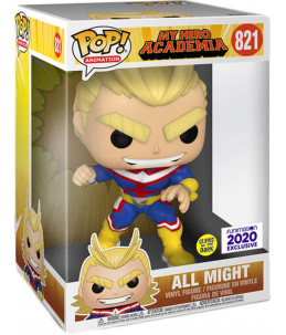 Funko POP! My Hero Academia n°821 All Might (GITD Funimation Exclusive) BOITE ABIMEE