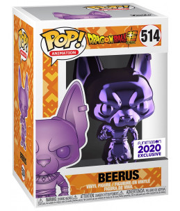 Funko POP! Dragon Ball n°514 Beerus (Purple Chrome Funimation Exclusive)