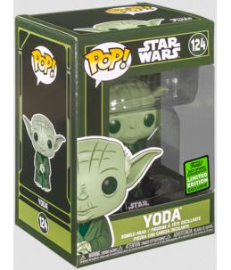 Funko POP! Star Wars n°124 Yoda (2021 Spring Conv. Exclusive)