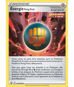 [FR] Pokémon Carte EB05 141/163 Energie Poing Final