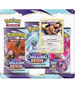 "[FR] Pokémon Tripack ""EB06 Règne de Glace"" Evoli"