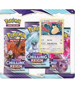 "[FR] Pokémon Tripack ""EB06 Règne de Glace"" Ronflex"