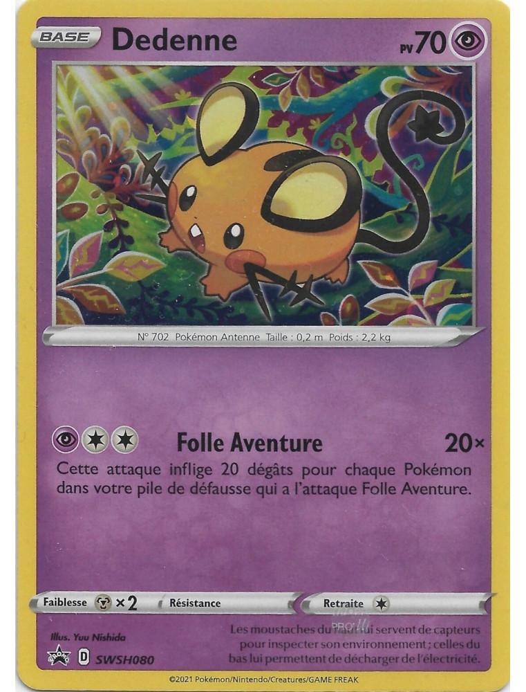 [FR] Pokémon Carte Promo SWSH080 Dedenne