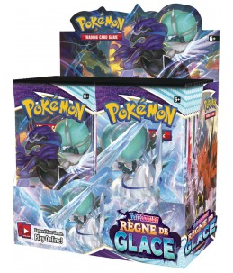 "PRECO 18/06/21 [FR] Pokémon Display ""EB06 Règne de Glace"" 36 Boosters"