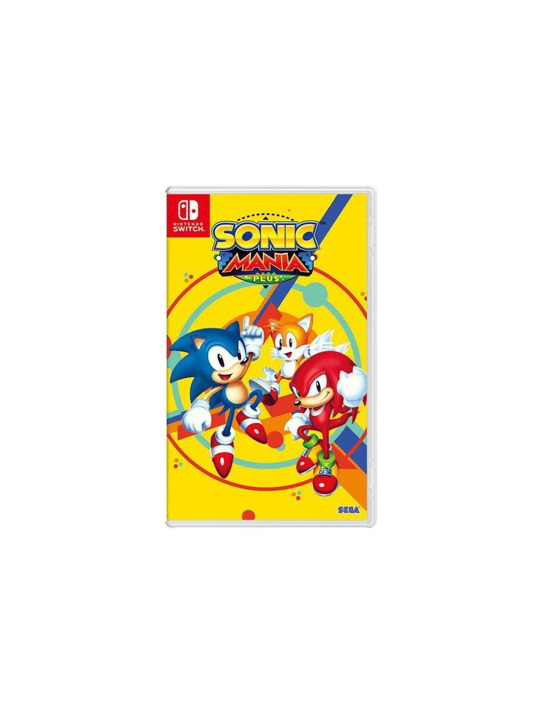 """[SWITCH] JEU """"Sonic Mania Plus"""""""