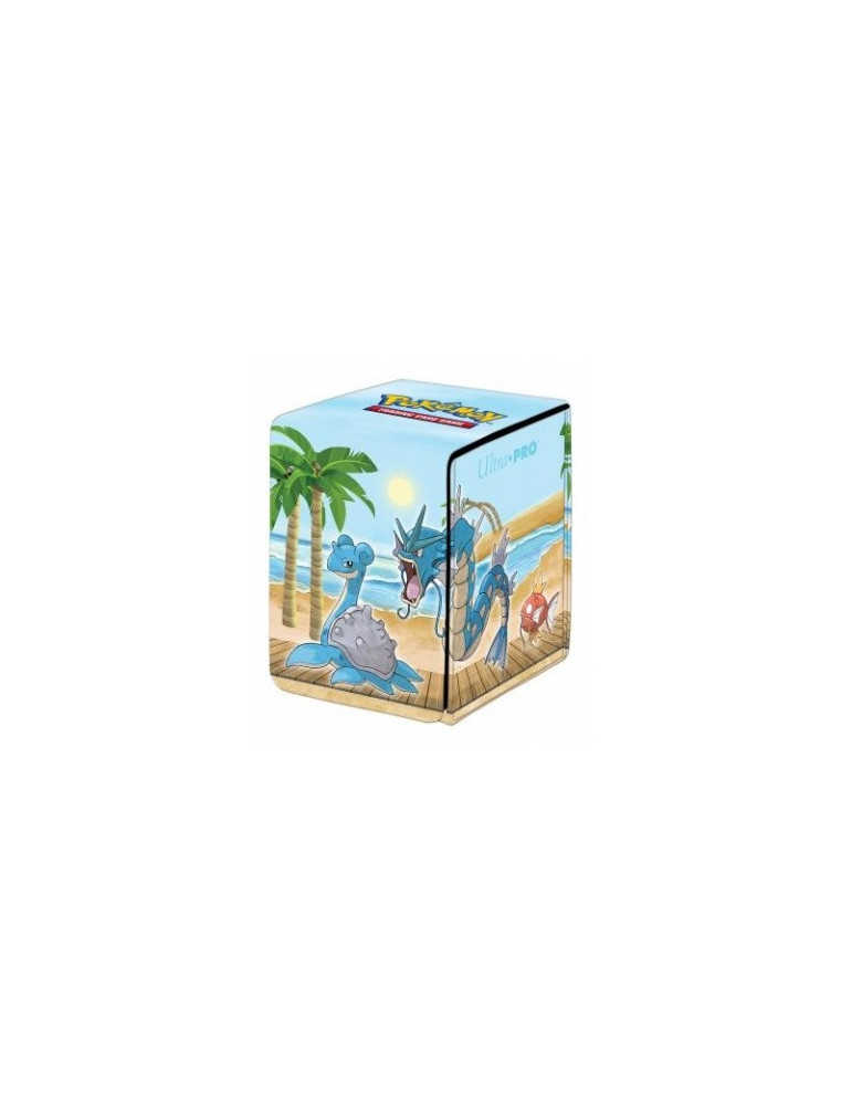 "ULTRA PRO Pokémon Gallery Serie 1x Alcove Flip Deck Box ""Seaside"" A4"