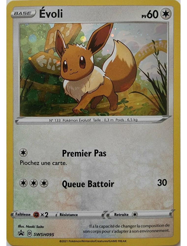 [FR] Pokémon Carte Promo SWSH095 Evoli