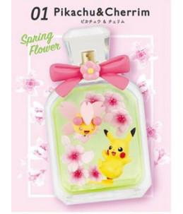 "Re-Ment Pokémon ""Seasonal Flowers"" n°01 Pikachu & Ceriflor"