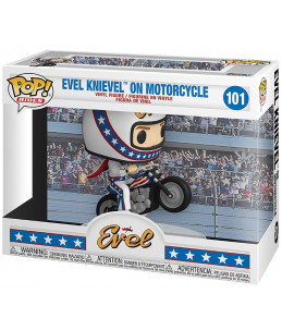 Funko POP! Evel n°101 Evel Knievel On Motorcycle