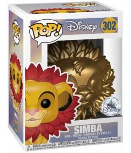 Funko POP! Disney n°302 Simba (Gold Disney Special Edition)