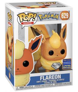 Funko POP! Pokémon n°629 Flareon (Pyroli) (Diamond 2021 Wondrous Con. Exclusive)