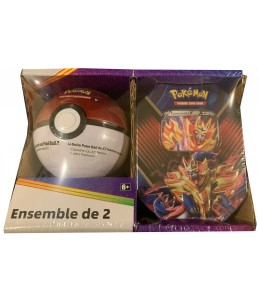 [FR] Pokémon Pokébox Zamazenta V + Poké Ball Tin PACK EXCLUSIF