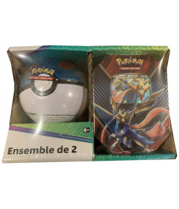 [FR] Pokémon Pokébox Zacian V + Great Ball Tin PACK EXCLUSIF