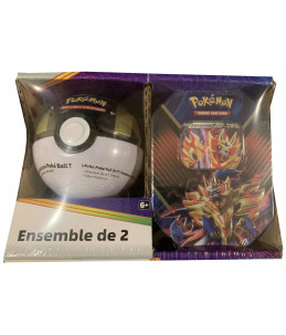 [FR] Pokémon Pokébox Zamazenta V + Ultra Ball Tin PACK EXCLUSIF