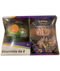 [FR] Pokémon Pokébox Zamazenta V + Sombre Ball Tin PACK EXCLUSIF
