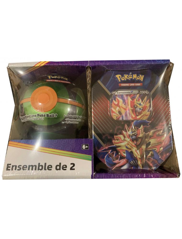 [FR] Pokémon Pokébox Zamazenta V + Sombre Ball Tin PACK EXCLUSIF