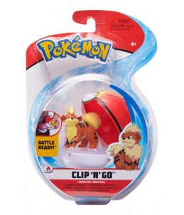 Pokémon Clip'n'Go wave 7 - Caninos et Bis Ball