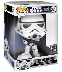"Funko POP! Star Wars n°391 Stormtrooper 10"" (2020 Galactic Convention Exclusive)"