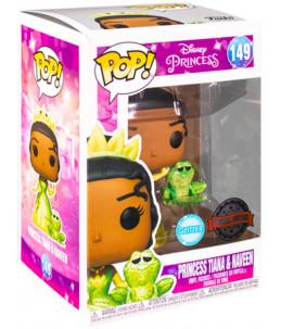 Funko POP! Disney Princess n°149 Princess Tiana & Naveen (Glitter Special Edition)