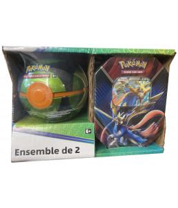 [FR] Pokémon Pokébox Zacian V + Sombre Ball Tin PACK EXCLUSIF