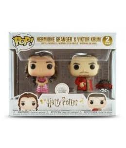 Funko POP! Harry Potter-2 Pack Hermoin Granger & Viktor Krum