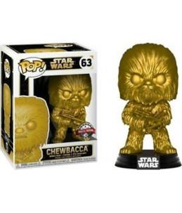 Funko POP! Star Wars n°63 Chewbacca Gold Chrome (Special Edition)