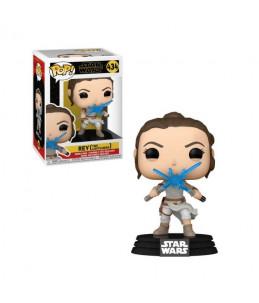 Funko POP! Star Wars n°434  Rey (Two LightSabers )