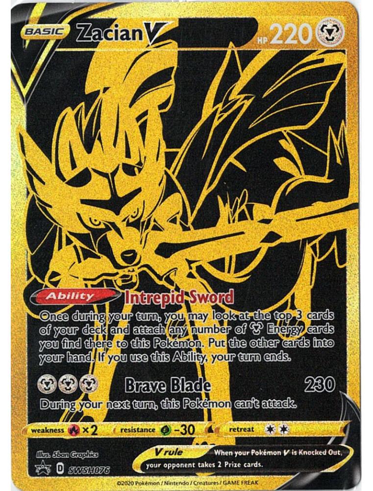 [EN] Pokémon Carte Promo SWSH076 Zacian V