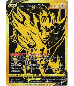 [EN] Pokémon Carte Promo SWSH077 Zamazenta V (Booster scellé)