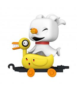 Préco Estimée 30/09/21 Funko POP! L'Etrange Noel de Monsieur Jack n°XXX Zero in Duck Cart