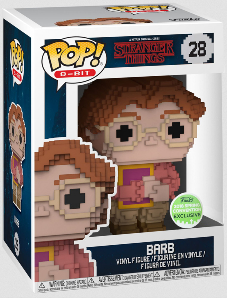 Funko POP! Stranger Things n°28 Barb 8bits (2018 Spring Convention)