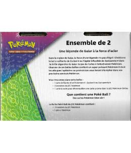 [FR] Pokémon Pokébox Zacian V + Great Ball Tin PACK EXCLUSIF