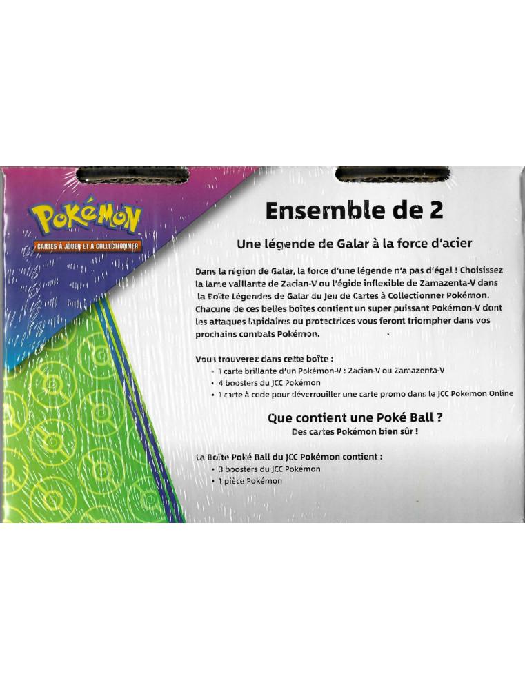 [FR] Pokémon Pokébox Zacian + Honor Ball Tin PACK EXCLUSIF