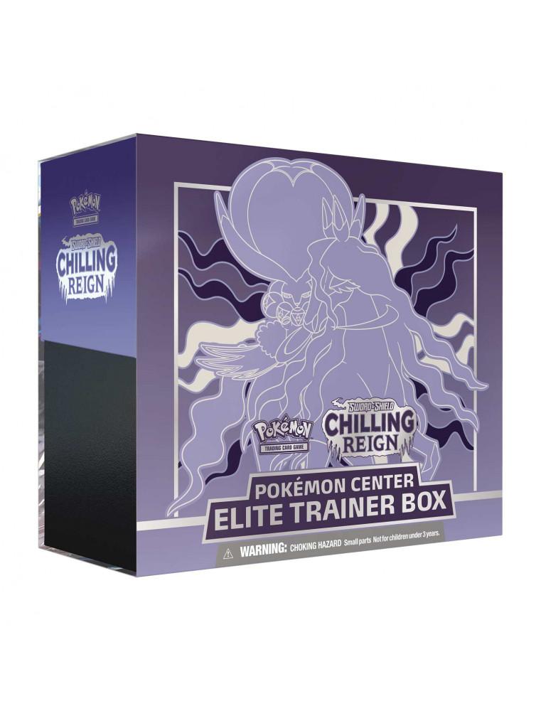 "[EN] POKEMON CENTER EXCLUSIVE Elite Trainer Box ""SWSH06 Chilling Reign"" Shadow Rider Calyrex"