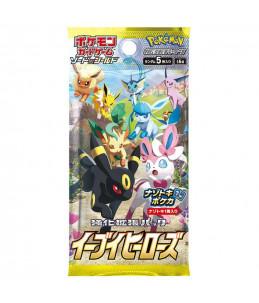 "[JAP] Pokémon Booster de 5 cartes ""S6a Eevee Heroes"""