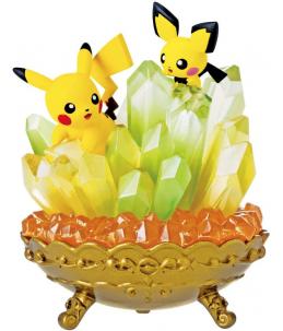 """Re-Ment Pokémon """"Gemstone Collection vol.6"""" Pichu et Pikachu"""