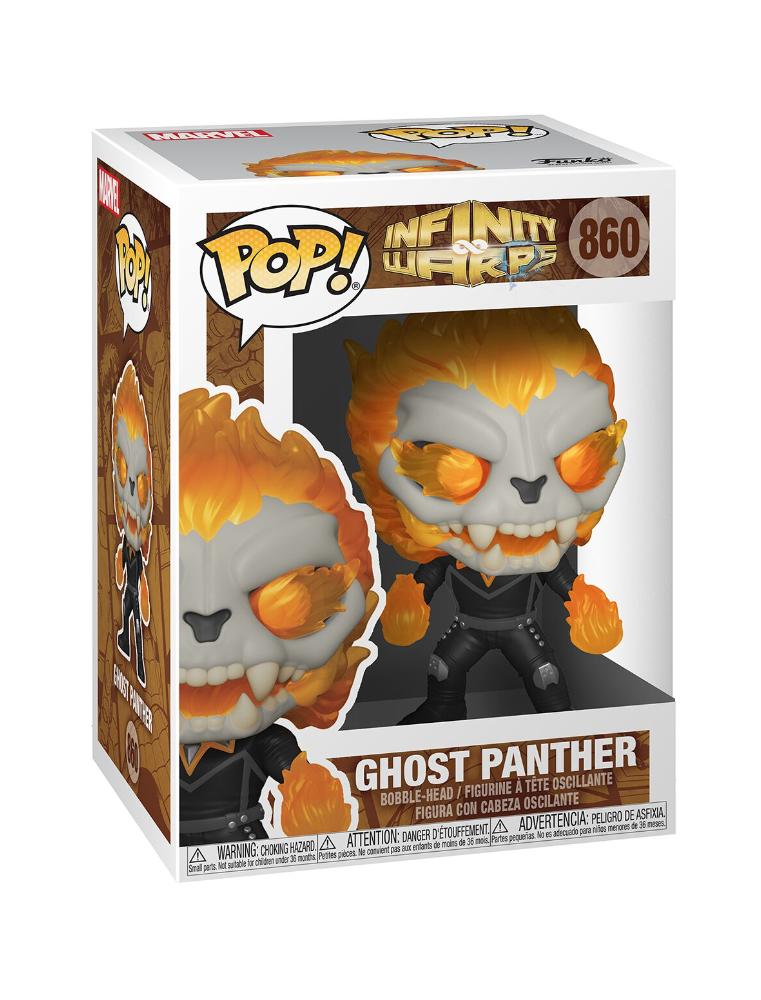 Funko POP! Infinity Warps n°860 Ghost Panther