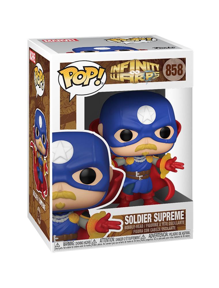 Funko POP! Infinity Warps n°858 Soldier Supreme