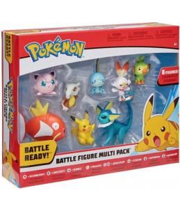 Pokémon Battle Figure Multi Pack S4 - 8 Figurines