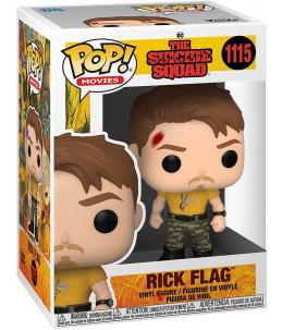 Funko POP! The Suicide Squad n°1115 Rick Flag