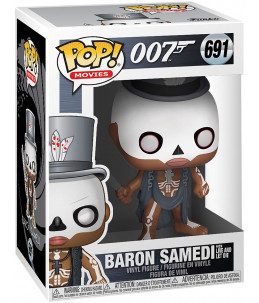 Funko POP! James Bond 007 n°691 Baron Samedi (from Live and Let Die)