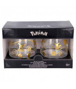 Pokémon Set de 2 Verres 510ml - Pikachu