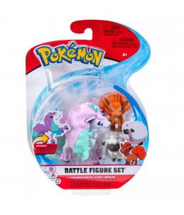 Pokémon Battle Figure Set - Ponyta, Goupix et Moumouton