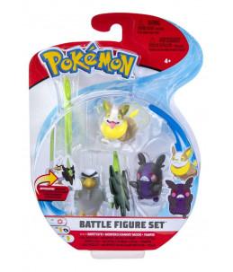 Pokémon Battle Figure Set - Palarticho, Morpeko et Voltoutou