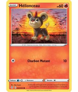 FR Pokémon Carte EB07 022/203 Hélionceau