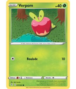 FR Pokémon Carte EB07 017/203 Verpom
