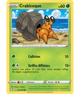 FR Pokémon Carte EB07 011/203 Crabicoque