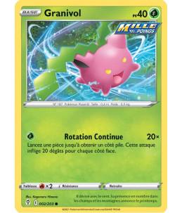 FR Pokémon Carte EB07 002/203 Granivol
