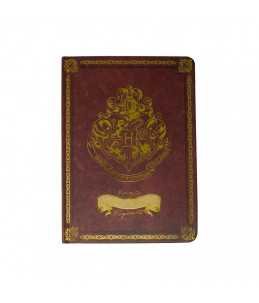 Harry Potter Cahier A5 Gold