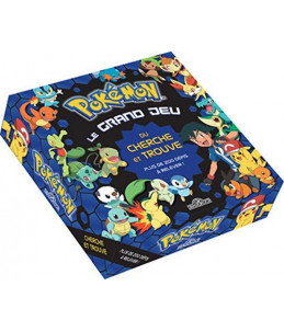 Pokémon grand jeu cherche trouve